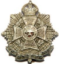 Image of Border Regiment cap badge