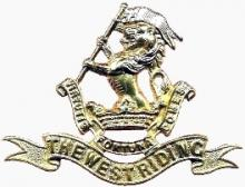 Image of the Duke of Wellington's Regiment cap badge