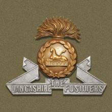 Image of the Lancashire Fusiliers cap badge