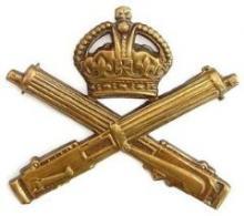 Image of the Machine Gun Corps cap badge