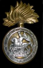 Badges and Insignia -Northumberland Fusiliers. Image kindly provided by Wartime Memories Project.