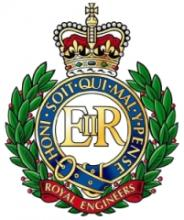 Image of the Royal Engineers cap badge