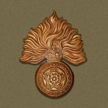 Image of the Royal Fusiliers cap badge